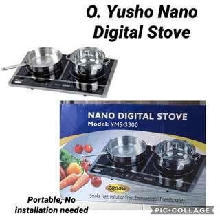 BNIB Yusho Nano Digital Stove (Induction Stove)