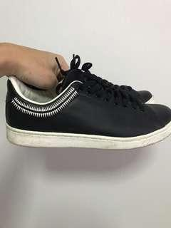 Undercover Shoes - Black Leather Sneakers. Fits US 8.5 to 9.5 (Japanese Size M)