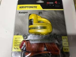 Kryptonite Keeper 5-S Disc Lock Cyclocross Mountain Bike Bicycle Trek Pinarello Scott Colnago Cervelo Argon