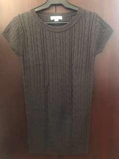 Authentic Forever21 Knitted Gray Dress / Long Top