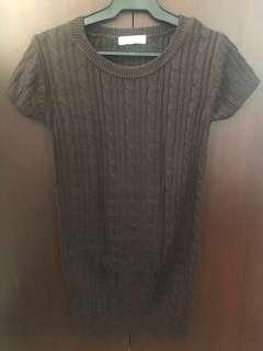 Authentic Forever21 Knitted Brown Dress / Long Top