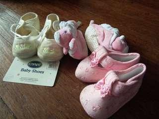 BABY SOFT SHOES (Set of 3 )