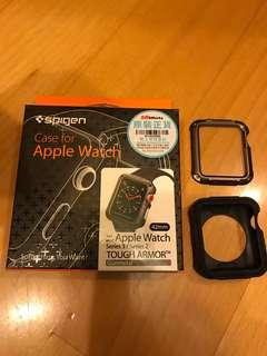 Spigen Apple watch case for series 2 and series 3 (tough armor)