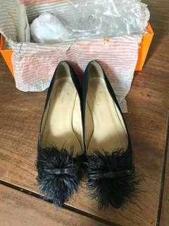 Authentic kate spade furry black