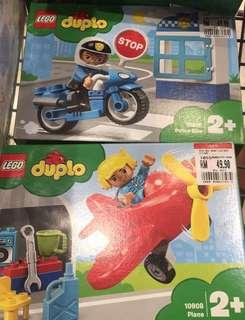 Lego Duplo 10908 and 10900 - new - 2boxes offer price