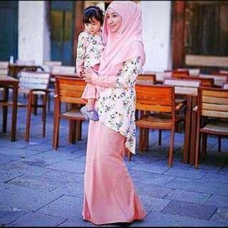 Calaqisya baju kurung / bf friendly/ L/ XL