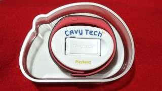 🚚 Davy Tech 藍牙體感遊戲手環 紅黑色