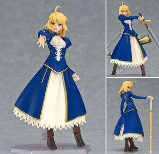 全新 日版 未開封 figma EX-025 Fate / stay night Unlimited Blade Works SABER DRESS VER.