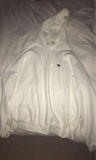 Champion white hoodie