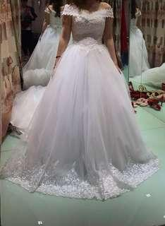 White Wedding Gown  :)