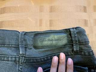 black calvin klein jeans / jeggings