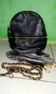 Zara Croco Backpack Original