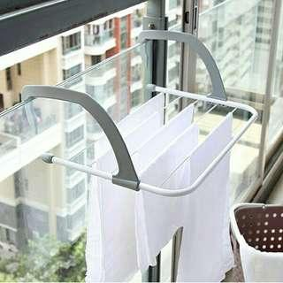 Foldable Multipurpose Cloth Hanger Outdoor Balcony Drying Rack