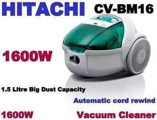 BNIB Hitachi CV-BM16 1600W Vacuum Cleaner (GREEN)