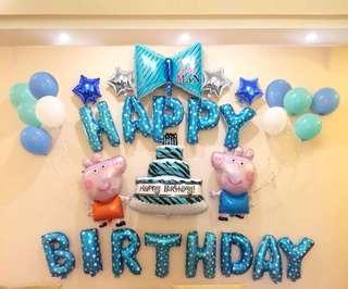 生日佈置氣球