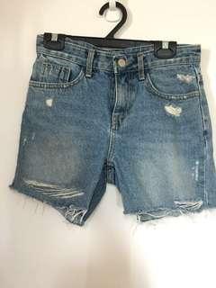 🚚 正韓 牛仔短褲