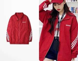 *BRAND NEW* Fashion Oversized Red Jacket