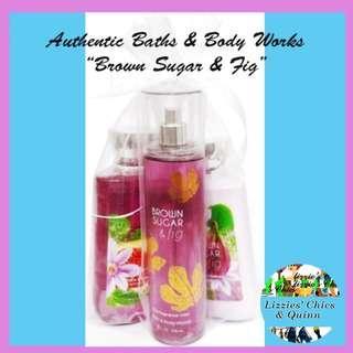 Authentic Baths & Body Works Brown Sugar