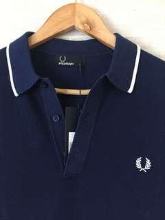 Brand New FRED PERRY Mesh Polo