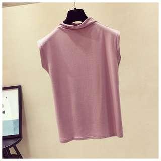 *FREE POST* BN Korean Summer Sleeveless Top (Pink) *PREMIUM QUALITY*