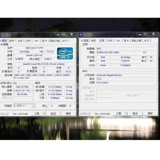🚚 Intel® Core™ i7-3770 處理器 + 主機板