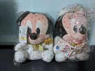Limited Edition Mickey & Minnie Mouse Soft Toy