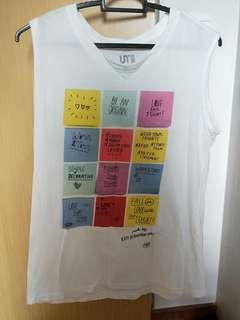 Uniqlo sleeveless top
