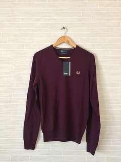 Brand New FRED PERRY Sweatshirt Jumper