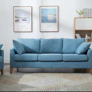 簡便可拆洗梳化沙發簡約兩人雙人三人小梳化 合適香港細小空間