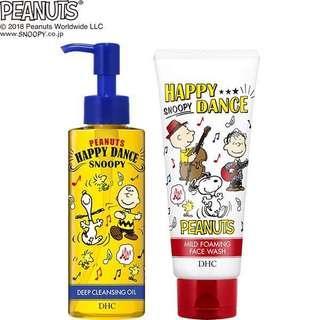 🚚 DHC x SNOOPY 卸妝油 洗面乳