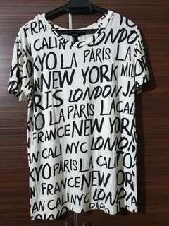 Forever 21 long T-shirt
