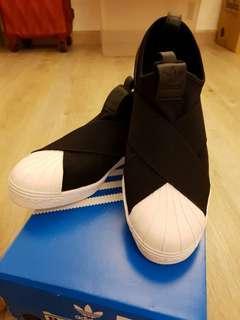 🚚 Adidas Original Stretch-Knit Slip On Sneakers