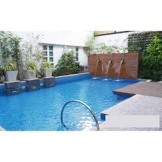 House and Lot with SWIMMING POOL For Sale Quezon City QC CUBAO Brand New 4 Bedrooms NEAR QUEZON AVE Townhouse with GARDEN