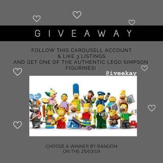 GIVEAWAY LEGO THE SIMPSONS