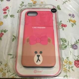 Case iPhone 7 Original Line Friends Store Korea