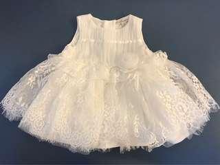 100% New 女嬰婚紗裙