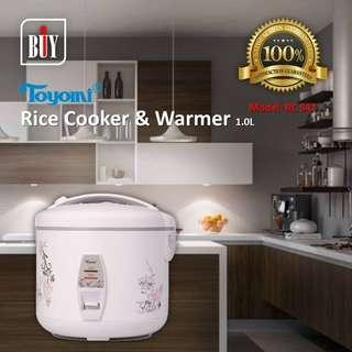 TOYOMI Rice Cooker & Warmer 1.0L - RC 942