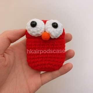 AirPods case Elmo手作針織保護套