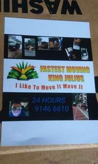 #Featureme Movers Mover Moving Van Lorry Fastest Moving King Julius