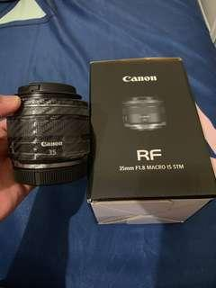 Canon RF 35mm F1.8 STM micro perfect