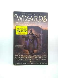 Wizards: Magical Tales from the Masters of Modern Fantasy by Neil Gaiman, Garth Nix, Eoin Colfe and others