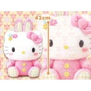[INSTOCKS] TOREBA Hello Kitty - Mega Jumbo Pink Rabbit Plushie