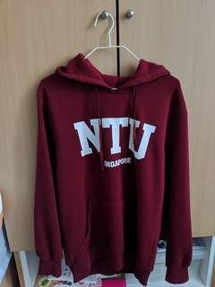NTU Red Hoodie