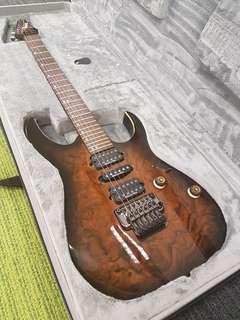 🚚 Ibanez RG970wbwz Premium guitar tremolo fixed Bridge