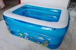 Inflatable Baby Kids Swimming Pool