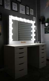 Vanity Mirror Hebat Canggih Pakai touch screen!
