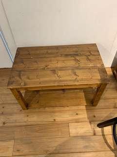 IKEA 松木矮桌 萬用桌
