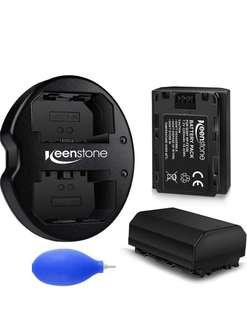 🚚 Keenstone - DSLR Batteries and Dual Charger