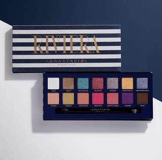 BN Authentic Anastasia Beverly Hills Riviera Eyeshadow Palette