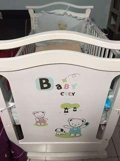 baby city 嬰兒床(大床)